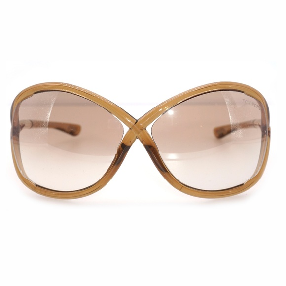 9738db75857a TOM FORD (Whitney) Oversized Round Sunglasses